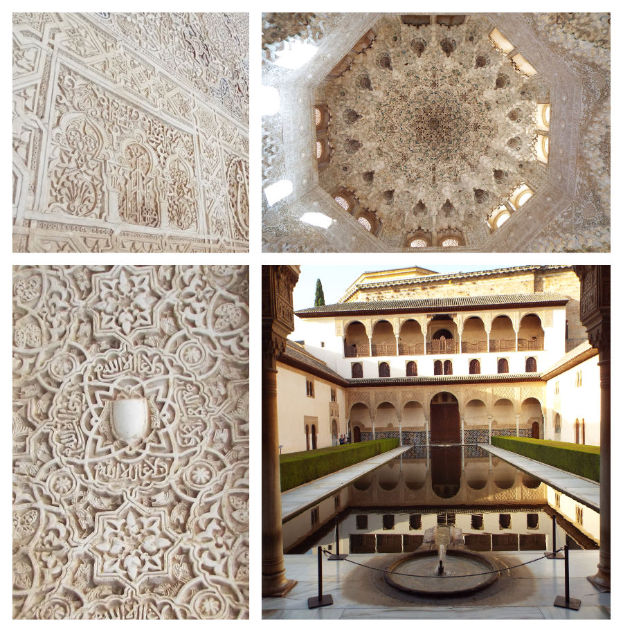 Grenade Alhambra décorations