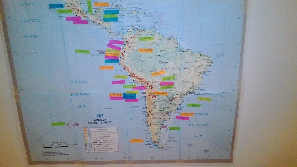 voyage carte