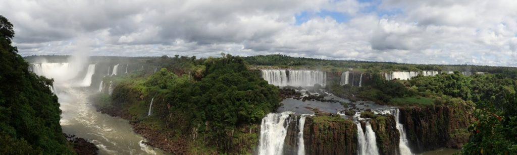Iguazú Brasile panorama