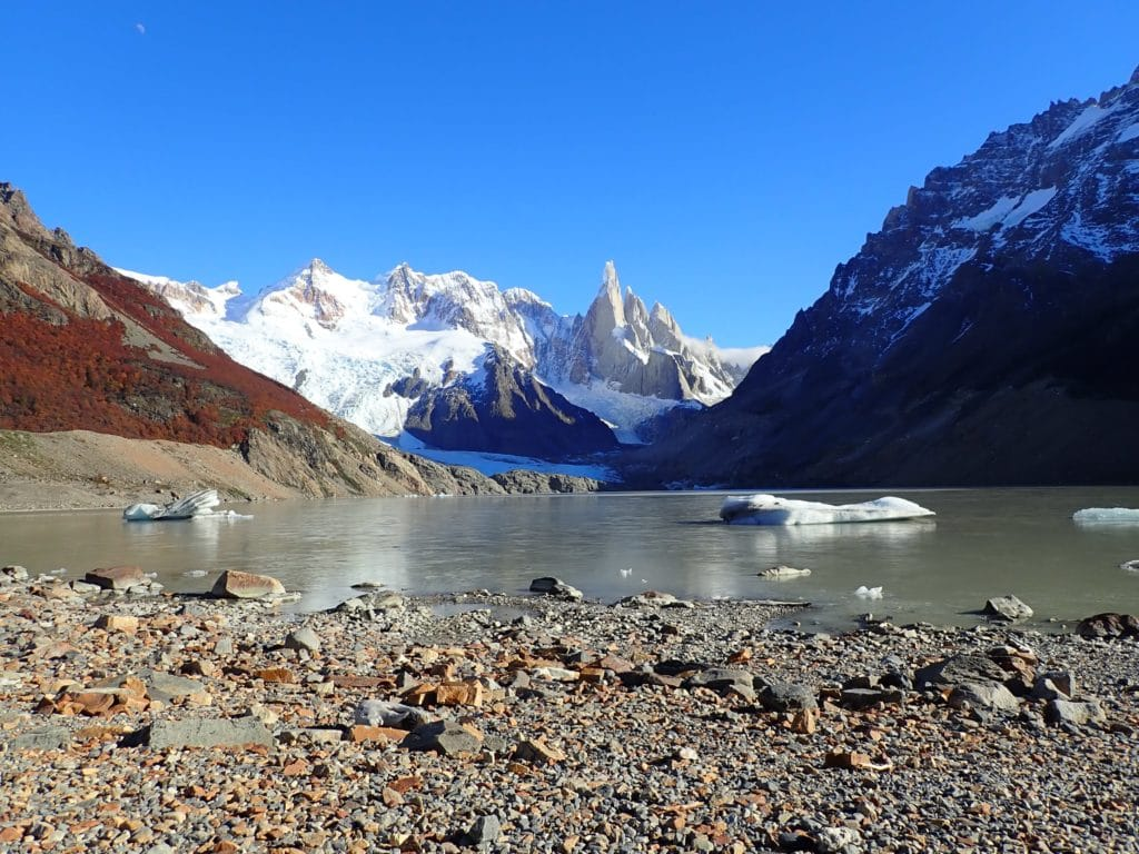 Laguna Torre glaciares