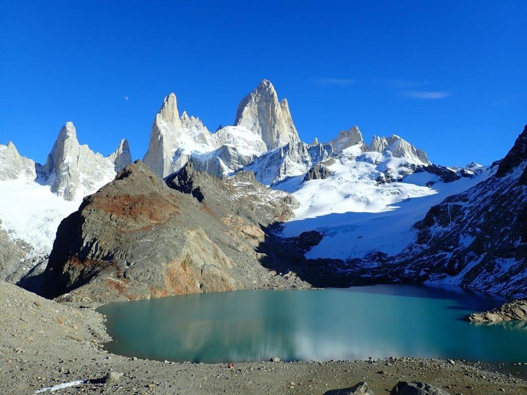 Laguna los tres glaciares