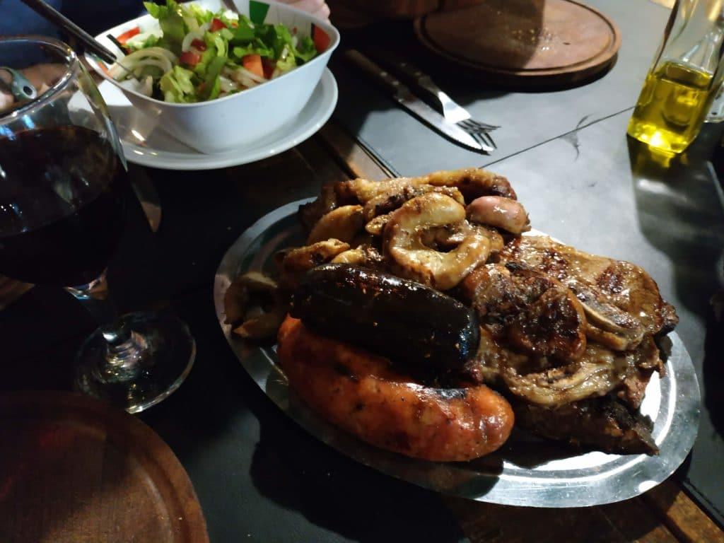 Parrillada meat Buenos Aires
