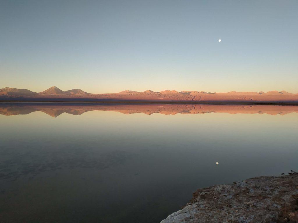 Tebinquiche lagoon