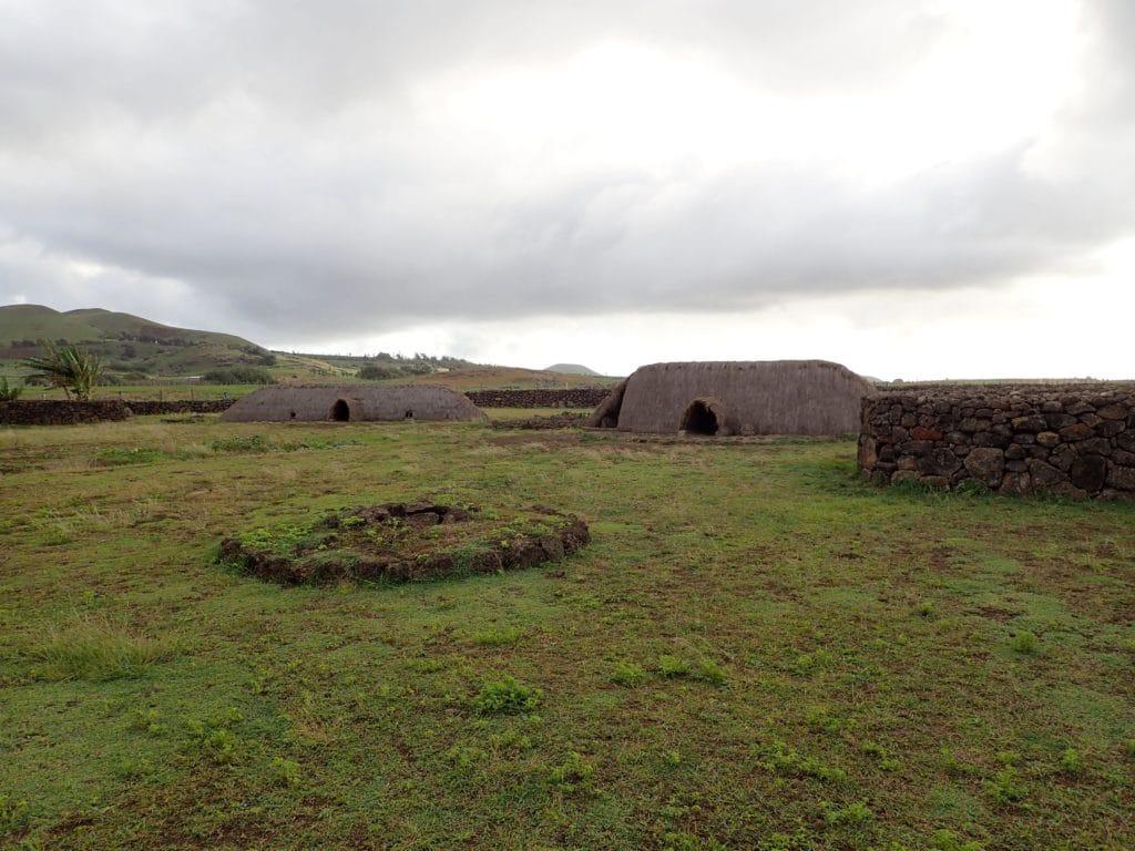 Rapa Nui village