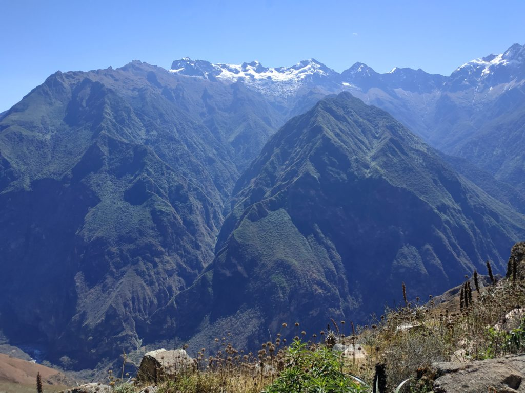 Choquequirao beginning