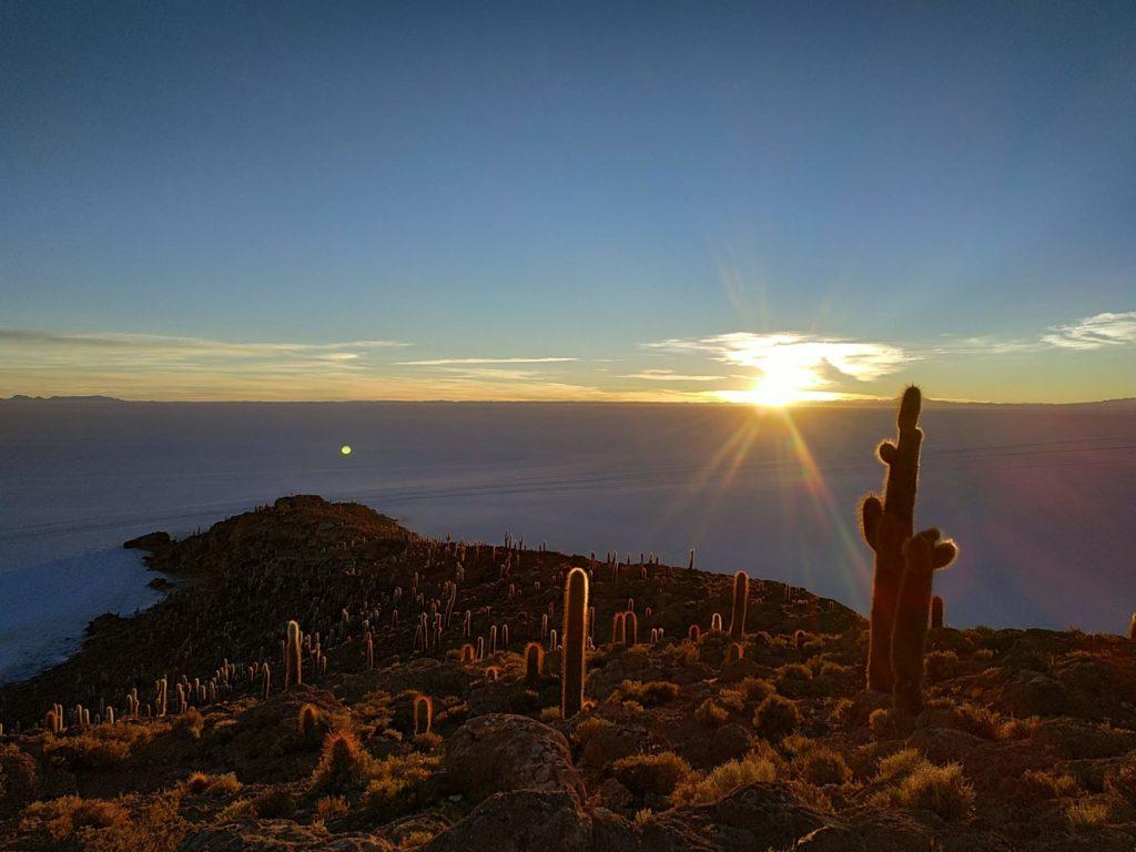 Salar Uyuni lever de soleil