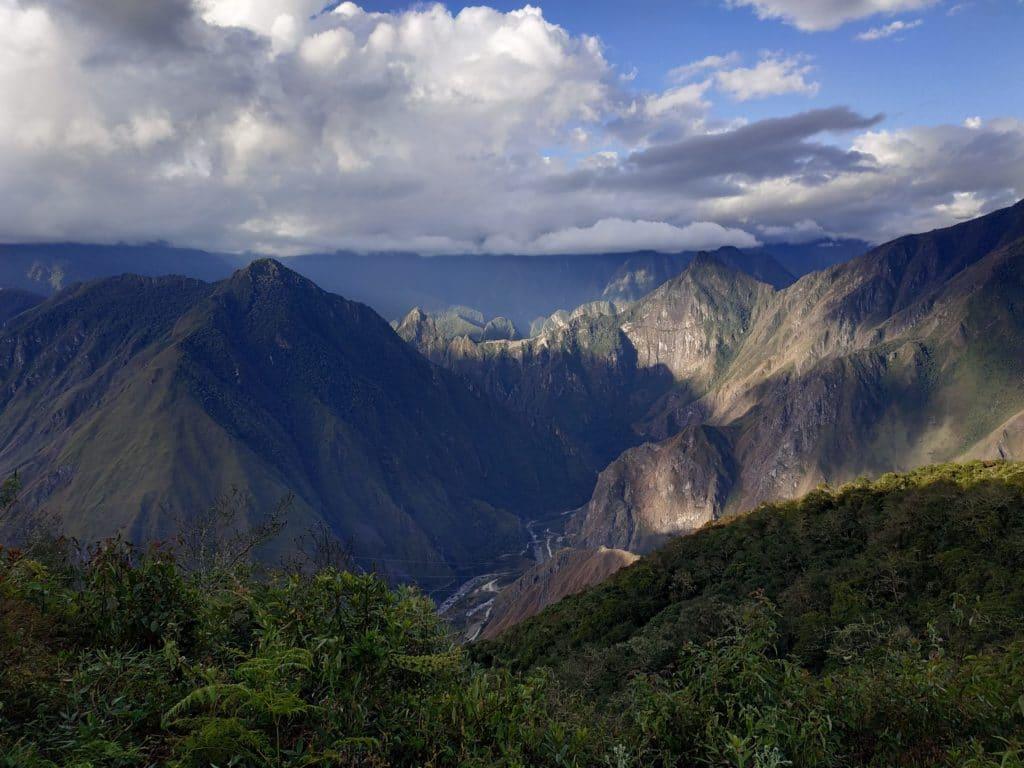 Salkantay vista Machu Picchu