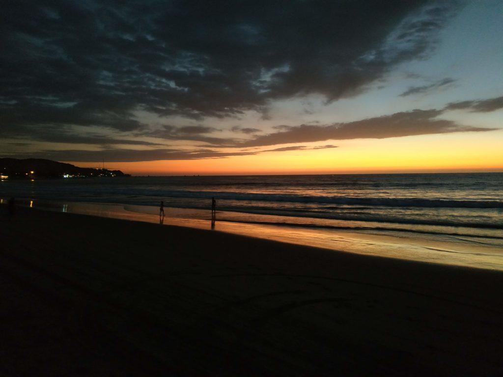 Mancora tramonto