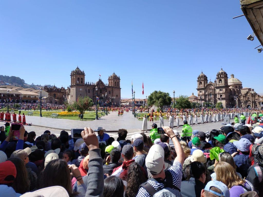 Plaza Armas Cuzco