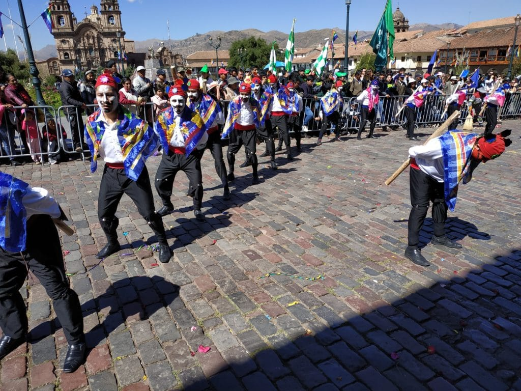 Traditional dances Cuzco