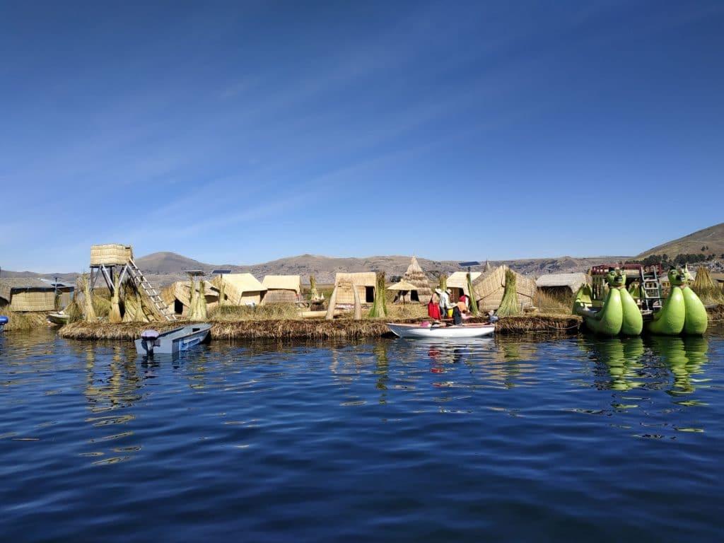 Uros Island titicaca