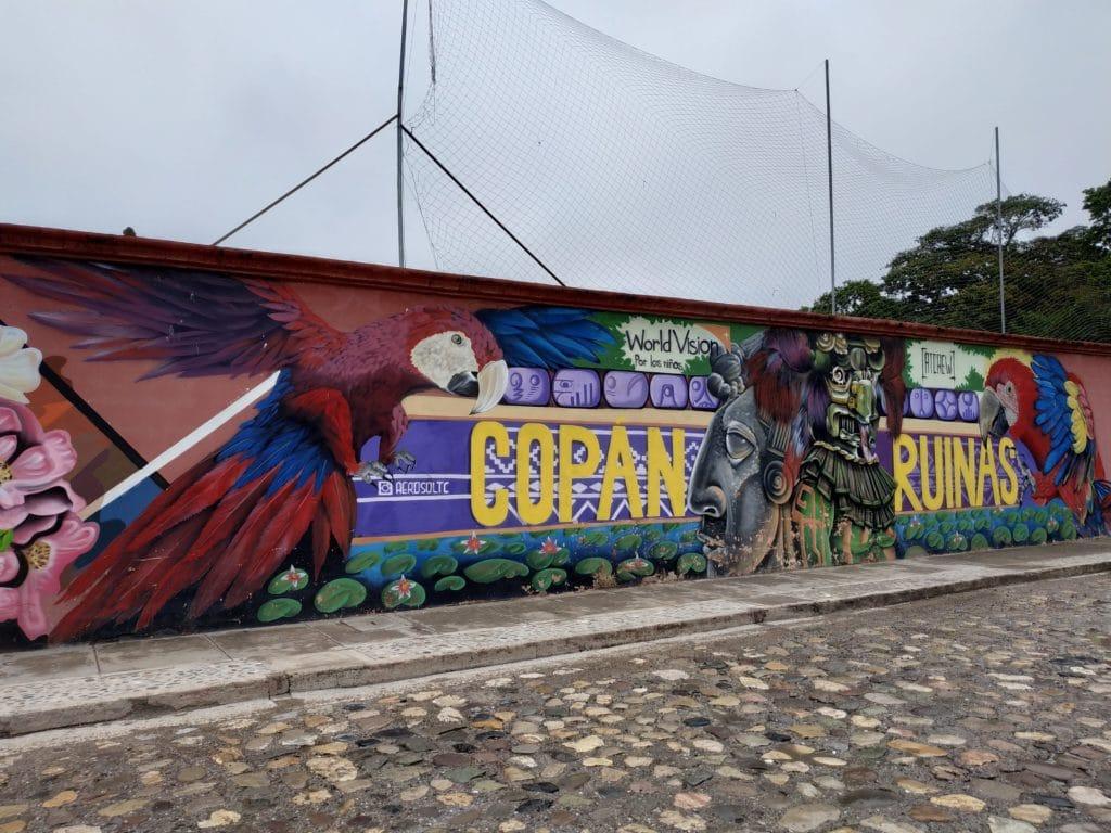 Copan Street art